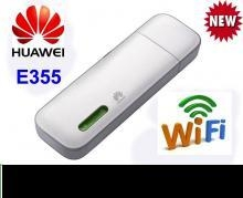 China 21.1 MBPS Data Card Huawei E355-21 Mbps 3G modem +WiFi Router on sale