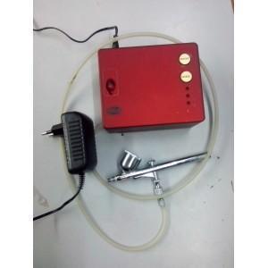 China Static Railway Models (2) Mini Air Brush + Compressor Complete Kit on sale