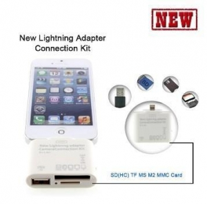 China 5 in 1 Camera Connection Kit USB TF SD Card Reader for iPad Mini/ iPad 4 on sale
