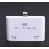 8 Pin USB Camera Connection Kit SD Memory Card Reader for iPhone 5/iPad 4th/Mini