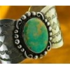 China ALBERT CLEVELAND Sterling Silver and Turquoise Bracelet - sku0014 for sale