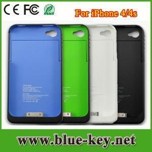 China 1900 mah power bank external battery case for iphone 4 4s on sale