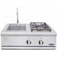 China DCS Liberty Collection 30 Dual Side Burner / Sink Unit on sale
