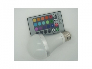 China LED Bulb Light RGB LED Bulb 1x3W on sale