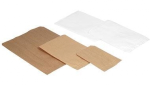 China Paper & Plastic Bags Flat Plain Paper Merchandise Bags on sale