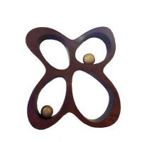 China Bamboo Furniture Bamboo Butterfly Shelf on sale