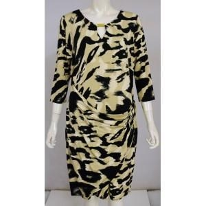 China Famous Name Animal Gold Plate Detail Dress. In Store 38 on sale