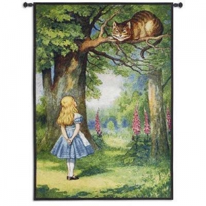 China Baby & Kids Cheshire Cat Hanging Wall Tapestry 44 x 31 on sale
