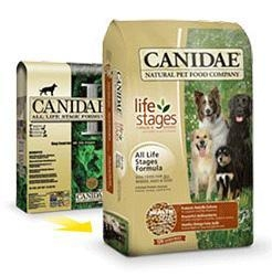 China CANIDAE all life stages formula: original dog food on sale