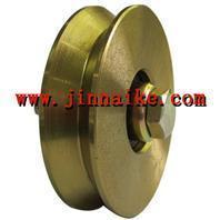 China Sliding Gate Wheel-V Groove sliding hanging sliding door wheels on sale