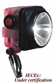 China Product ID: RESCUE-MINERS CORDLESS CAPLAMP & RED FLASHING WARNING KC3RC on sale