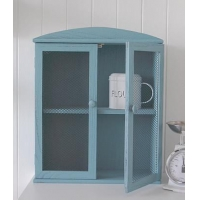 China Blue Shabby Chic Cupboard on sale