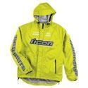 China Apparel Men's Icon PDX Waterproof Shell Motorcycle Rain Jacket Hi Viz Yellow on sale