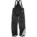 China Apparel Men's Icon PDX Motorcycle Rain Bib Pants Black on sale