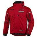 China Apparel Men's Icon Patrol Waterproof Motorcycle Riding Jacket Red on sale