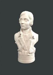 China Historical Busts Bust of Robbie Burns on sale