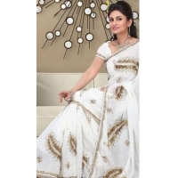 China Bridal Sarees Appealing Sequins Work Saree DN772 on sale