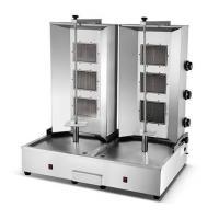 China Vertical broiler HGV-B26 Dual 3 Burners Gas Kebab Machine on sale