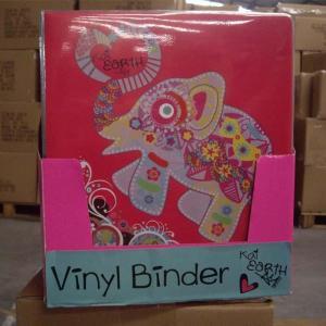 China binders pp vinyl binder Modelvbd0003 on sale