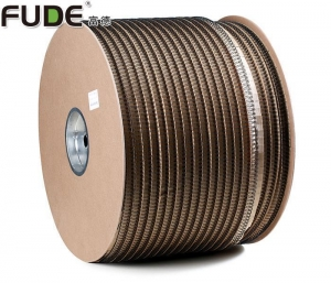 China Nylon Coated Double Loop Wire Binding in Roll & Spool for Office & School Supplies on sale
