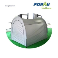 China Space-saving outdoor storage shed on sale
