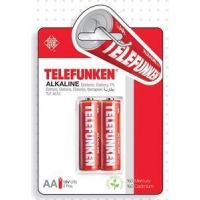 China Telefunken Alkaline LR6 AA Battery(2 PACK) on sale
