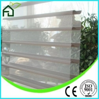 Faux Wood Blinds Lace Pleated Window Blinds