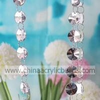 China Supply 18MM silver metal Acrylic crystal mirror di--YZJ004 on sale
