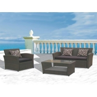 Chaise Lounge Outdoor Wicker Set
