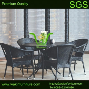 China Rattan garden furniture WG-089 Outdoor Wicker Garden Set on sale