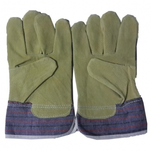 China Durable Pigskin Leather Working Gloves on sale