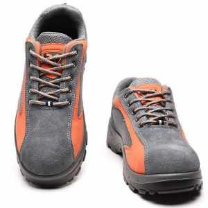 China Fashion Puncture Resistant Steel Toe Non Slip Work Shoes Safety Footwear on sale