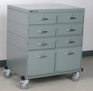 China 2 Wide Mobile Drawer Unit on sale