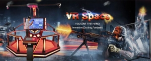 China Large Space Free to Move!! Amusement Park Equipment HTC Vive Game Machine VR Space Walk on sale