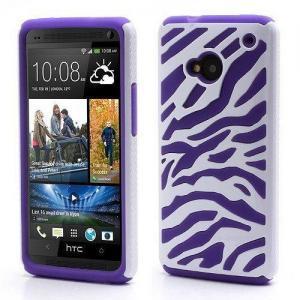 China Zebra combo hybrid case for HTC ONE M7 on sale
