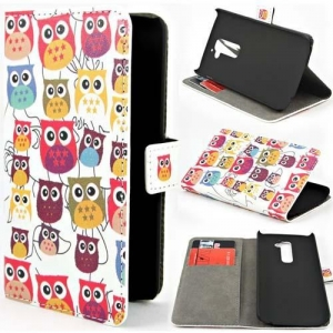 China flip wallet picture customized printing case for LG G2 on sale