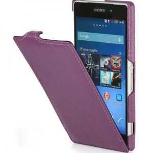 China Genuine Leather Case for Sony Xperia Z2 on sale