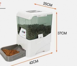 China Battery Powered Visible Remote Control Automatic Smart Pet Feeder on sale