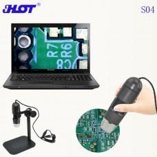 China S04 China original factory hand-held Digital Microscope USB CMOS Sensor WIN10 available on sale