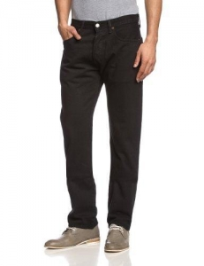 China Levi's Men's 501 Original Fit Jean, Black, 29 32 on sale
