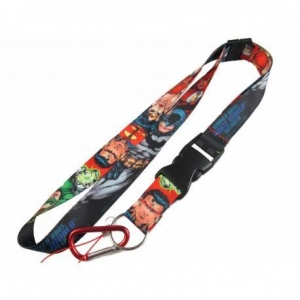 China 2.5cm cartoon animation heat transfer sublimation printing neck lanyard with climb hook on sale