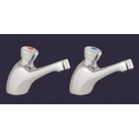 China SupaPlumb Self Closing Basin Taps - W: 47mm H: 100mm D: 140mm on sale