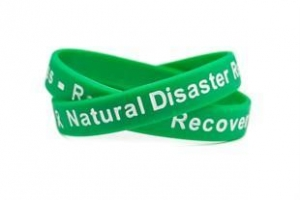 China Bumper Stickers Natural Disaster Readiness - Relief - Recovery green - Adult 8 on sale