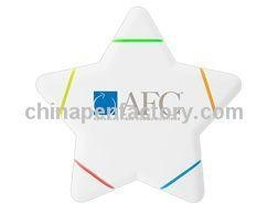 China Star haped Highlighters Model No:CPF01854 on sale