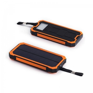 China 8000mah portable solar powered battery charger on sale
