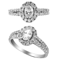 China Engagement Rings model no. :CAR02194A on sale