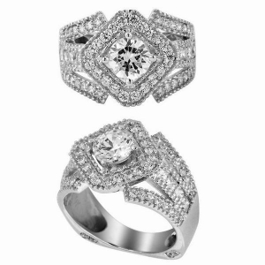 China Engagement Rings model no. :CAR02200A on sale