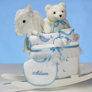 China Personalized Baby Gifts Personalized Rocking Horse Baby Boy Gift on sale