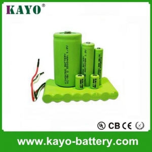 China 1.2 7.2v, 9.6v 3000mah Ni-MH Battery,rechargeable Battery,C Size Battery on sale