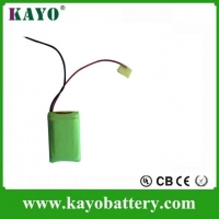9.6v Aa Rechargeable Batteries ,Rechargeable Nimh Aaa 9.6v 800mah ,for Solar LED Light Customized